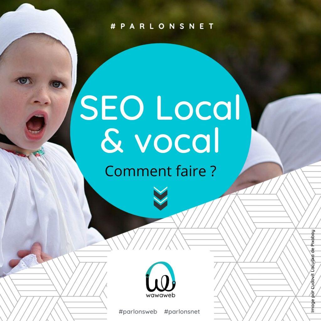 SEO local et vocal