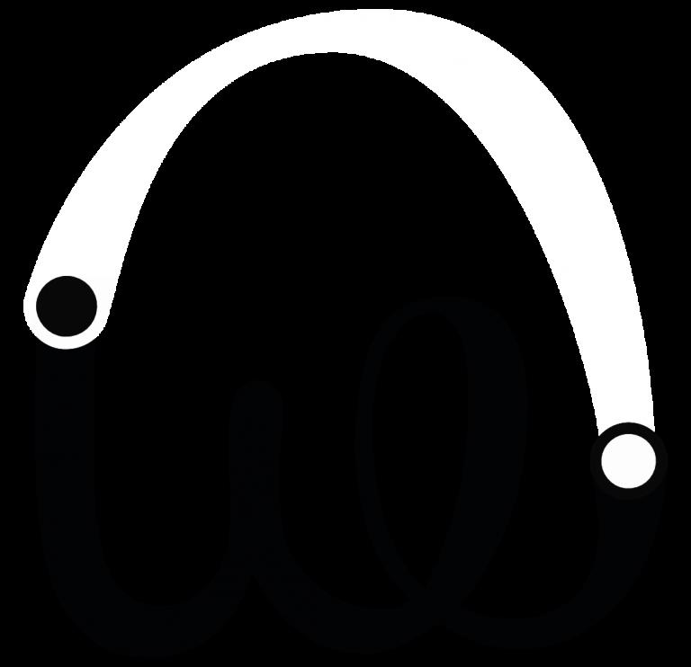 logo noir et blanc