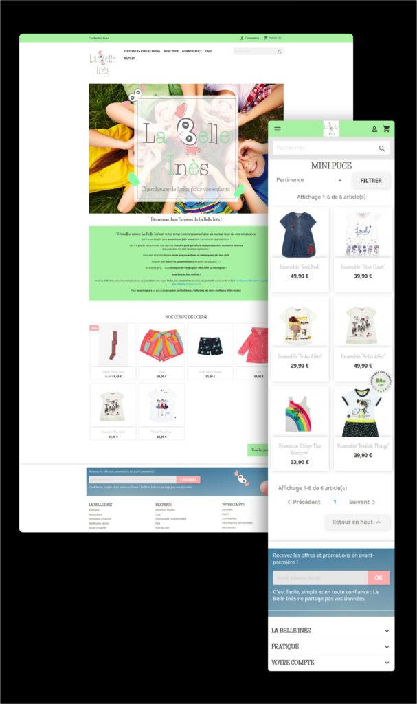 Read more about the article Boutique en ligne La Belle Inès