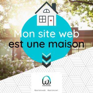 Le site web est ma maison