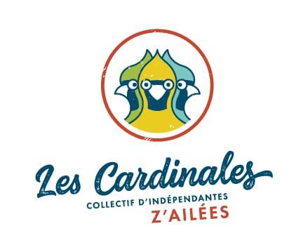 Logo les cardinales, un collectif d'indépendantes z'ailées